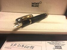 NEW Montblanc Boheme Doue Ligne Brushed Gold Citrine Fountain Pen 101994 M