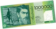 1 x ONE MILLION DOLLAR NOTE $1,000,000 NED KELLY $1000000 Australian $ 1 Million