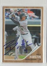 Billy Hamilton 2011 Topps Heritage Minors signed auto autographed card Reds