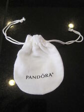 "Pandora Bracelet Gift Bag Genuine Anti-tarnish White Pouch 3"" x  4""  NEW AMAZING"
