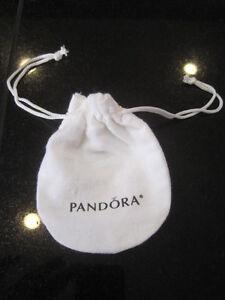 "Pandora Bracelet Gift Bag Genuine Anti-tarnish White Pouch 3"" x 4"" NEW AMAZING"