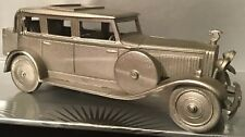 Superbly Detailed Danbury Mint Hispano Suiza H6B 1929 Pewter Car 9.5cm Length