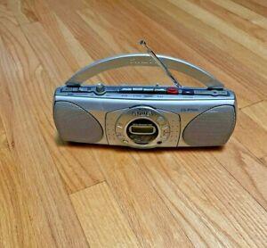 Vintage Cassette Deck 80s 90S AIWA CS-P700 STEREO RADIO BOOMBOX Portable Digital