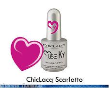 ChicLacq Escarlata Esmalte Semipermanente UV Remojo De Uñas Polish comercial