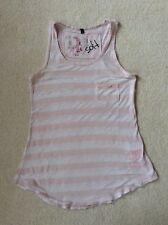 Desigual Pink Stripe Vest