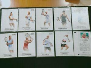 2006 Ace Grand Slam 20 Card Set Roger Federer Andre Agassi Rafael Nadal */1199