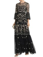 5e5043072f0c Needle and Thread Climbing Blossom Embellished Beaded Tulle Gown Dress Size  8