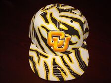 COLORADO BUFFALOES BUFFS THE GAME ZEBRA ZUBA RETRO SCRIPT HAT CAP SNAPBACK