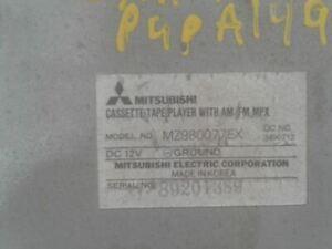 Audio Equipment Radio Receiver Fits 87-96 MITSUBISHI PICKUP 1359264