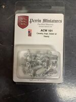 Perrin Miniatures 10mm AWI ACW 101 Cavalry Kepi Saber at Ready New Sealed