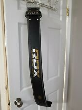 RDX Powerlifting Gym Weight Lifting Belt Back Support Strap (Size XL)