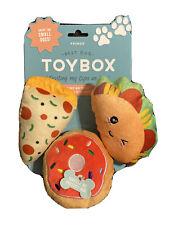 Fringe | Trendy Food - Set Of 3  | Squeaky Plush Dog Toy