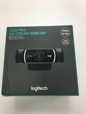 Logitech C922 Pro Stream 1080p Webcam for HD Video Streaming & Recording @ 30FPS