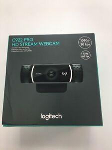 Logitech C922 Pro Stream 1080p Webcam for HD Video Streaming & Recording @ 30FPS