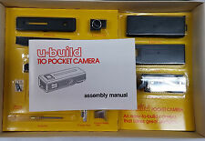 Vintage U-Build 110 Pocket Camera Kit New In Box Very Cool...Look RARE C5