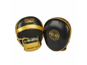 Pro Box Champ Spar Air Focus Pads Boxing Punch Cushion Speed Mitt Punching Pads