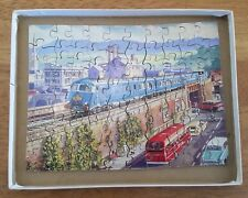 Complete Hayter Vintage Victory Wooden Jigsaw Puzzle Pullman Diesel Express
