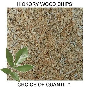 Quality Hickory Wood Chips for Smoking Ovens, Smoker Dust - All Sizes  FAST POST
