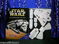 Star Wars Make a Millennium Falcon 3-D Popup Book A Punch Out Flyers Book