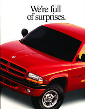 1998 Dodge Dakota Truck 24-page Original Sales Brochure Book
