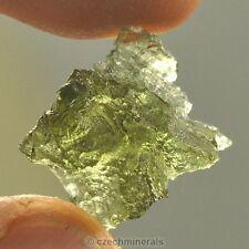 Besednice moldavite hedgehog natural rare piece 7.35cts = 1.47g BM110