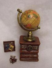 Boyds Treasure Box, Sebastian'S World W/Columbus, Globe