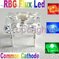 500 PC  5mm 8Kmcd Common Cathode Super Flux RGB LED F/R