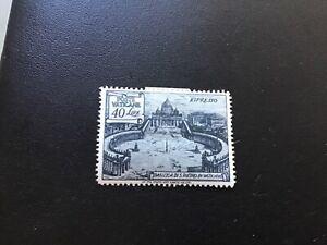 Vatican Scott #E11  Mint hinged 1949 40 Lira St. Peter's Basilica