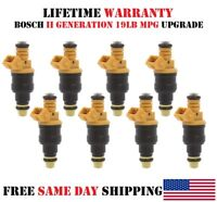 8X OEM Bosch II fuel injectors for 1997-1998 Ford Econoline SD 5.4 -19Lb Upgrade