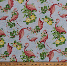 FABRIC-OH DEER-SKY BLUE-30164 441-LANDSCAPE-SOLD BY THE HALF YARD