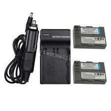 2 PCS EN-EL3e Battery + Charger for Nikon D50 D70 D80 D90 D100 D200 D300S D700
