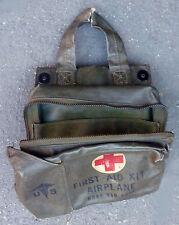 ORIGINAL AVIATION MEDICAL FIRST AID KIT VIETNAM WAR ARTIFACT HELICOPTER BAG ETH