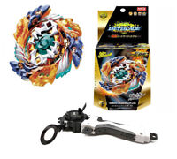 Beyblade Burst B-122 Starter Geist Fafnir.8`.Ab Launcher Gifts for Kid + Grip