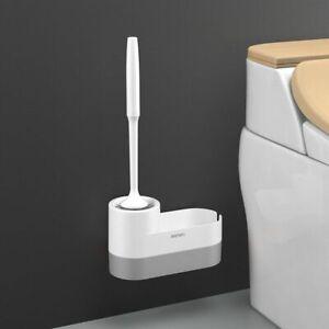 Toilet Brush Holder With Base Toilet Bowl Brush And Holder Set Cleaning Tool