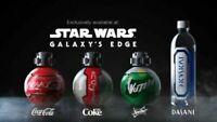 LOT NEW 4 BOTTLE Disney Star Wars Galaxy's Edge Coca Cola Diet COKE sprite SET