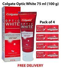 Colgate Optic White - Sparkling White - Whitening Toothpaste 75 ml x 4 tubes