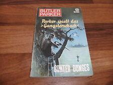 Günter Dönges -- BUTLER PARKER  Taschenbuch  # 42 -- SPIELT das GANGSTERSCHACH