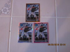 lot of (3) 2018 Donruss Panini Optic Greg Allen RC #60 Indians Copper,Silver and