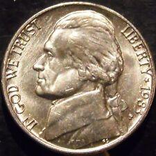 1983-P Jefferson Nickel Choice/Gem BU Uncirculated