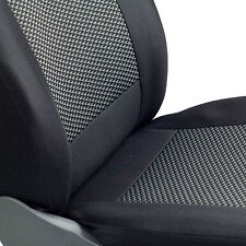 Schwarz-graue Dreiecke Sitzbezüge für FORD PUMA Autositzbezug Komplett