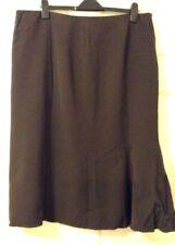 Gianfranco Ferre skirt-brown colour-waist 40in/105 cm- length33in/85cm