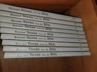 Illustrated Stories From The Bible Volumes 2 3 4 5 7 8 9 10 & study guide Mormon