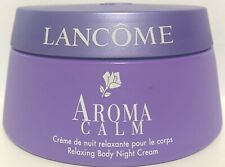 LANCOME Aroma Calm Relaxing Body Night Cream 6.8 oz / 200mL *Please Read*