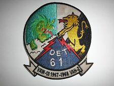 Vietnam War Patch US Navy DET. 61, VAW-13 And VAH-2 Onboard USS RANGER 1967-68