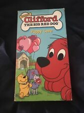 Clifford The Big Red Dog Puppy Love. VHS