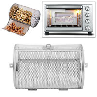 Kitchen Rotisserie Grill Roaster Drum Oven Basket Oven Roast 140x180mm