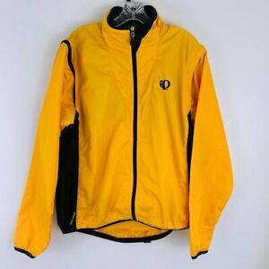 Pearl Izumi Convertible Waterproof Windbreaker Rain Cycling Jacket Size M