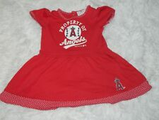 Los Angeles Angeles Dress Toddler Girl Red MLB Fan Apparel Size 2T
