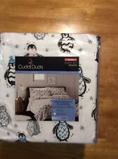 Flannel Bed Sheets Queen Cuddl Duds Nwt