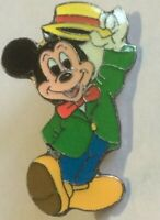 Mickey Mouse vaudevillian tipping hat Propin Germany disney pin U